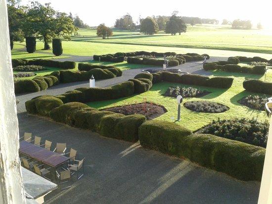 Carton House Hotel & Golf Club: Blick aus dem Zimmerfenster