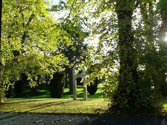 Carton House Hotel & Golf Club: Blick aus dem Linden Tree während des Frühstücks