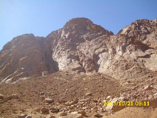 St. Catherine's Monastery: Mountain's