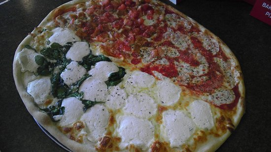 Pizza Heaven: Some specialty pizza by the slice!
