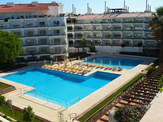 AquaLuz Suite Hotel : Aqualuz pools.