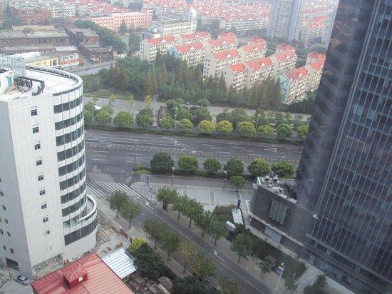 InterContinental Shanghai Pudong: room window view