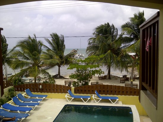 CayeReef: view from our room