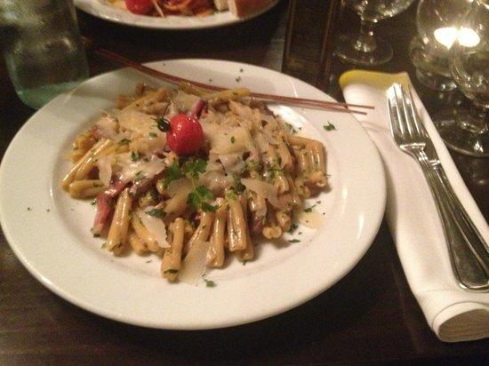 Dinner at Bar Italia