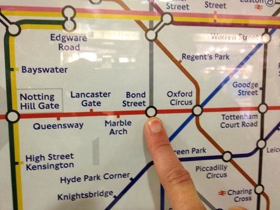 London Marriott Hotel Grosvenor Square: closest tube station