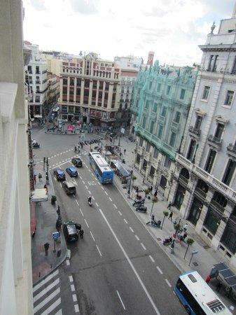 Quatro Puerta del Sol Hotel: View from room