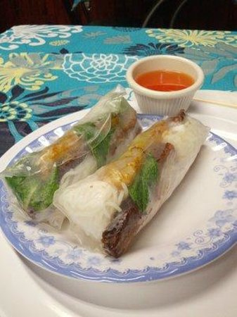 Little Saigon 78 Vietnamese Restaurant: #3 Nem Nuong (cured pork spring roll) soooooo good