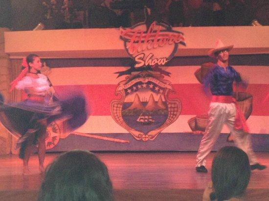 Occidental Tamarindo: Night show