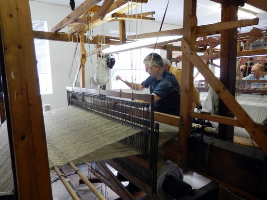 Studio Donegal: The weavers were very friendly