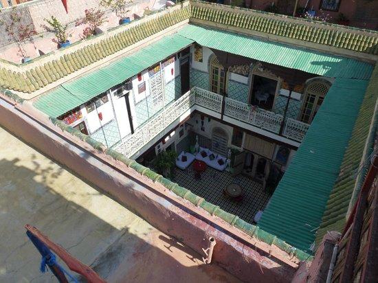 Les Couleurs de l'Orient: vue de la terrasse