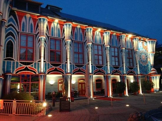 Kunsthotel Fuchspalast : Facciata