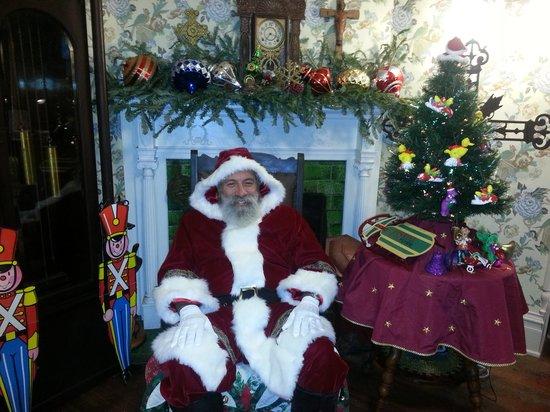 The Daffodale House: Victorian Santa at Daffodale House B&B