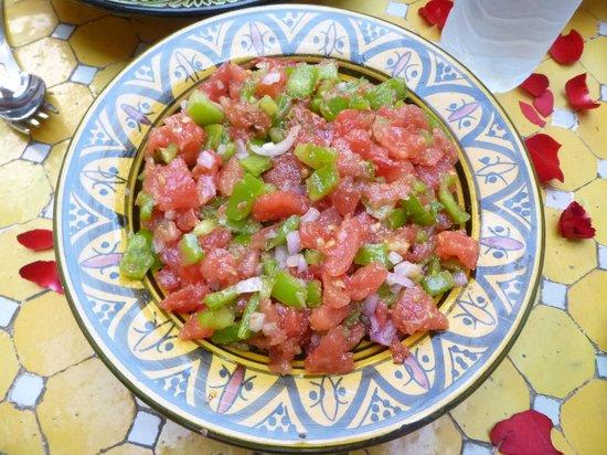 Les Couleurs de l'Orient: salade marocaine