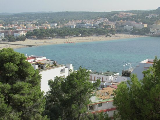 Club Santa Ponsa: View from the pool terrace