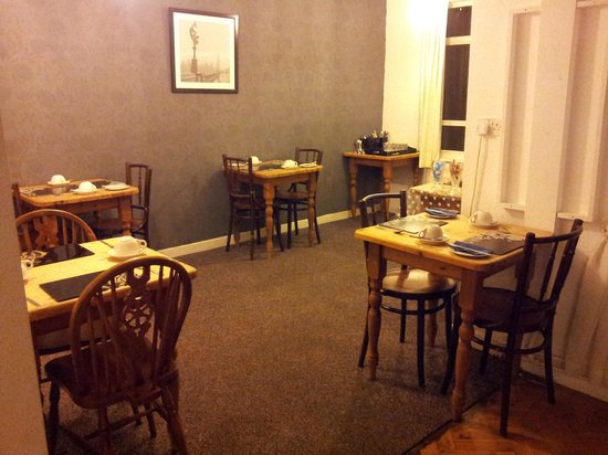 Latymer Guest House: dining area