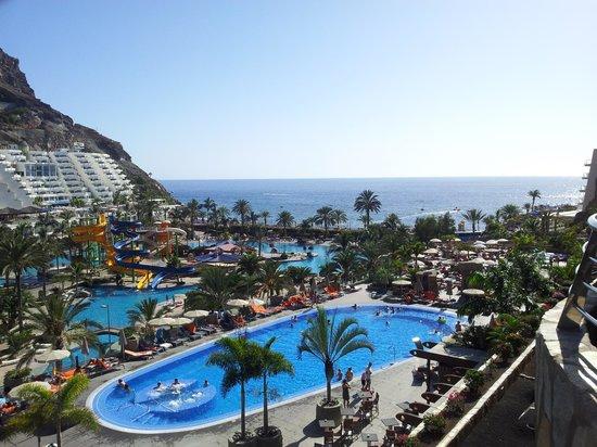Paradise Valle Taurito : vistas desde habitación