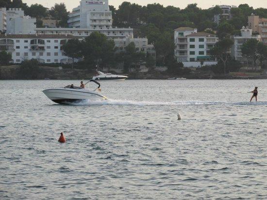 Restaurante Las Olas: Water Ski Show