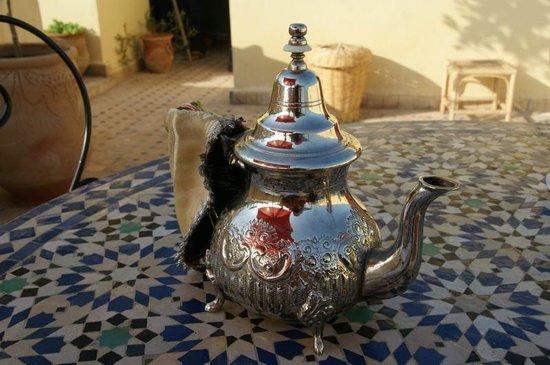 Riad Kettani : Colazione in terrazza