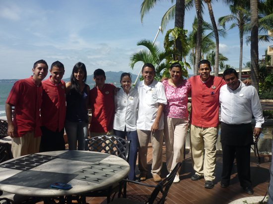 Bel Air Collection Resort & Spa Vallarta: Algunos meseros