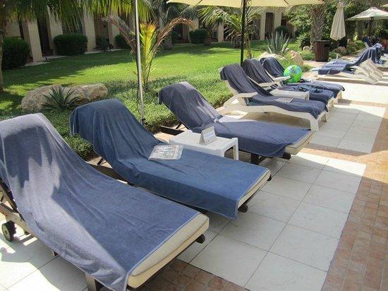 Hilton Ras Al Khaimah Resort & Spa : Nur ein Beispiel von vielen, ca 50% sind unbenutzt.