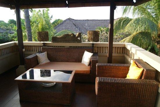 Amertha Bali Villas: primer piso de la villa