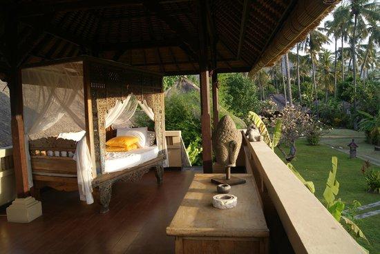 Amertha Bali Villas: vistas de la salita