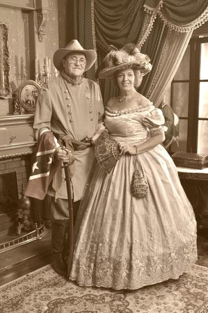 Old Town Portrait Gallery: A Southern Belle and her Man!!!
