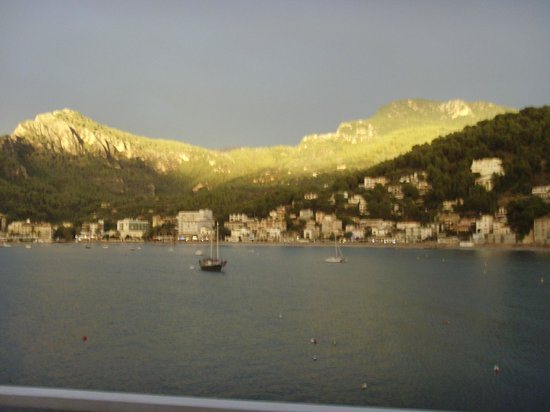 Citric Hotel Soller: view after thunderstorm