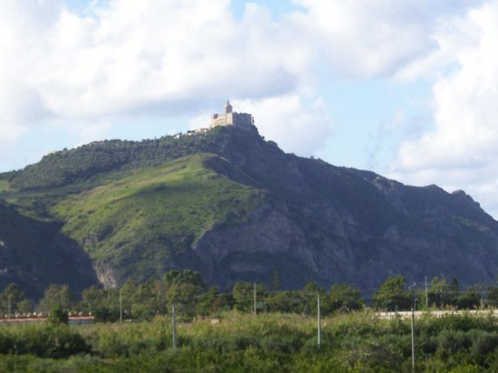 Sanctuary of the Madonna di Tindari: The church is at the top of a hill which overlooks the sea and the countryside....