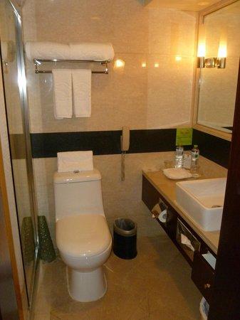 Sunworld Hotel Beijing: Bathroom Toilet/Sink