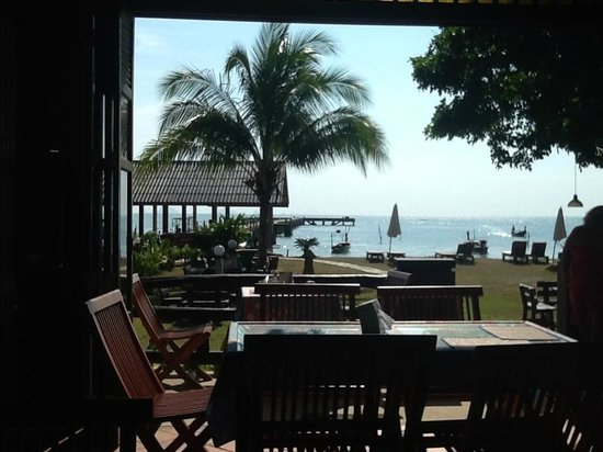 Baan Taranya Resort: View from Restaurant @ Baan Taranya