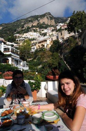 Casa Teresa: Colazione con panorama meraviglioso