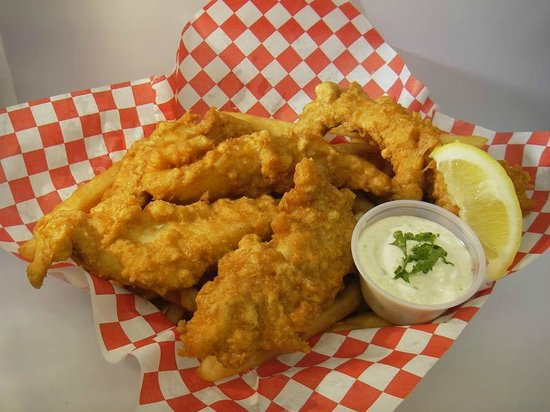 Giovanni's Fish Market & Galley : Fish and Chips