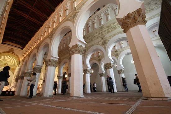 Interior of Sinagoga Santa Maria la Blanca - Picture of ...