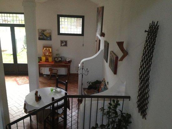 La Lepre Bianca Agriturismo: Entry area