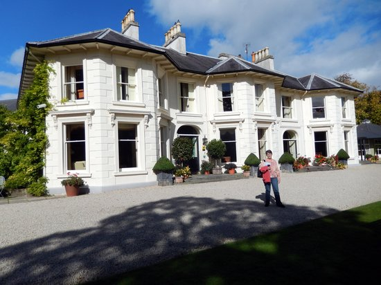 The front of Rathmullan House