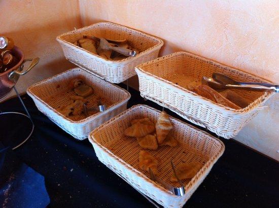 La Digue : Le coin pain et viennoiseries