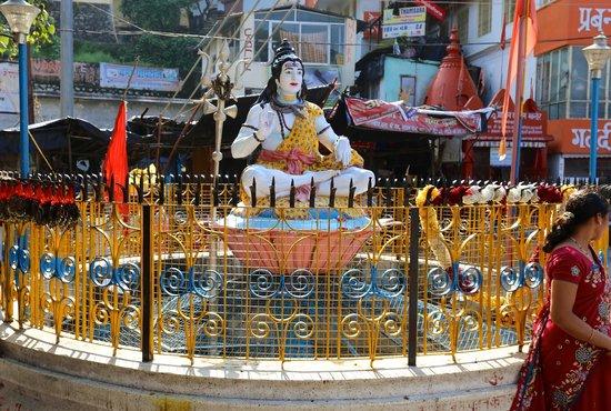 after crossing Ram Jhula - Shiva