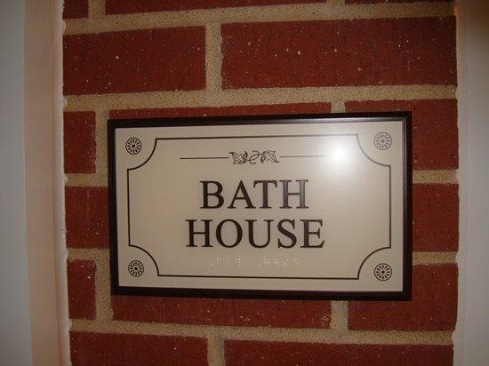 The Artesian Hotel, Casino & Spa: BATH HOUSE