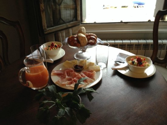 CimaRosa: Wonderful breakfast