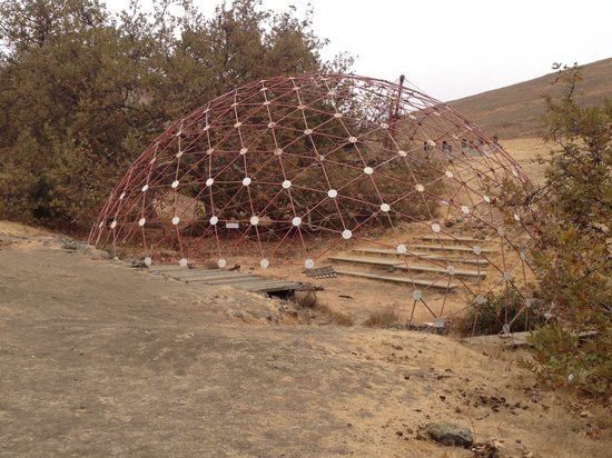 Poly Canyon Loop : Geodesic dome amphitheater