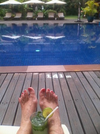 Victoria Angkor Resort & Spa: Friends are calling it a Footsie