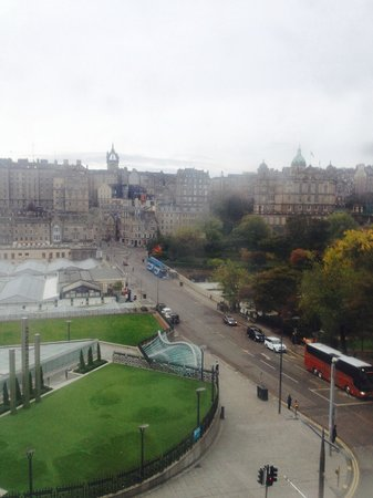 Travelodge Edinburgh Central Princes Street: So Close To Waverly Station Across The Road