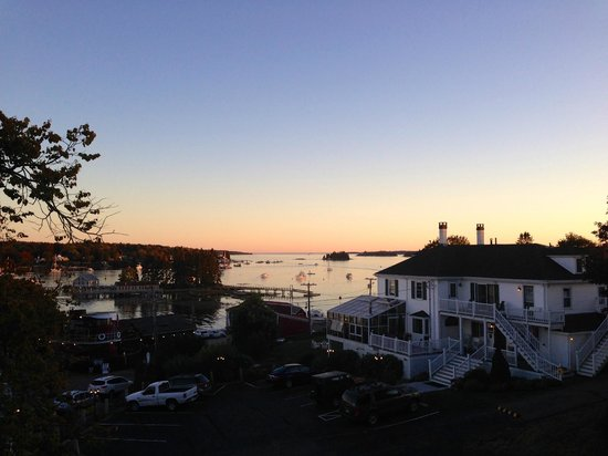 Greenleaf Inn at Boothbay Harbor: View from Room 7