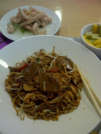 Yippee Noodle Bar: Yippee Noodle & Lemon Chicken