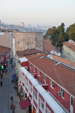 Sirkeci Mansion : View towards new city from our balcony