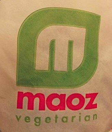 Maoz Vegetarian: Maoz wrapper