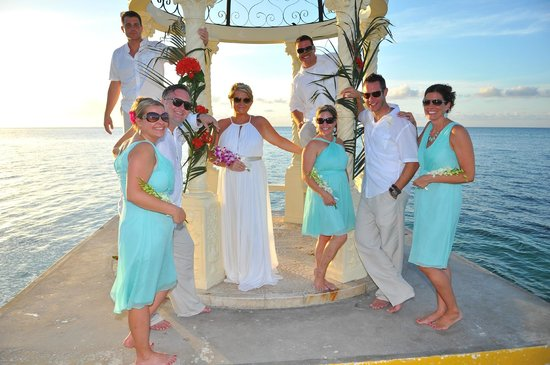 Sandals Montego Bay Wedding Party