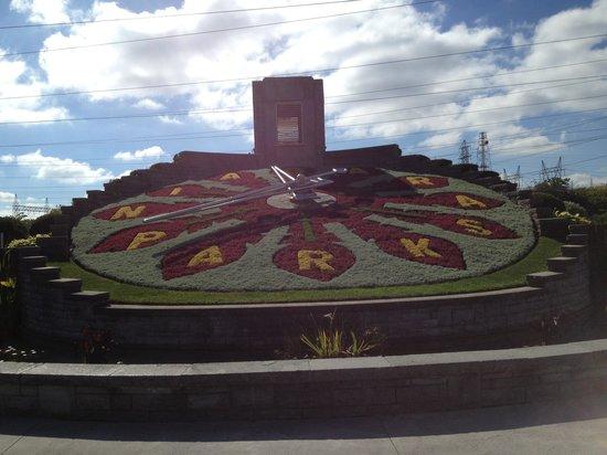 Floral Clock: The Clock