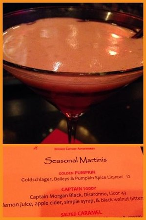 Grand Bohemian Hotel Orlando, Autograph Collection: pumpkin martini at the bar was amazing